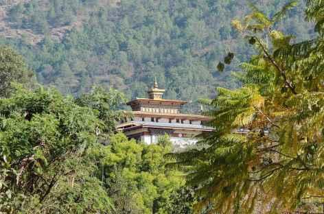 Montée sur Chimi Lakhang  - Bhoutan -