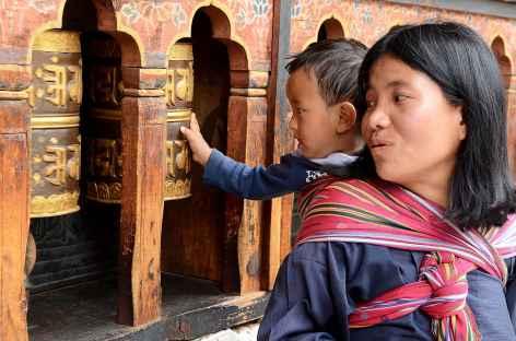 Apprentissage dès le plus jeune age  - Bhoutan -