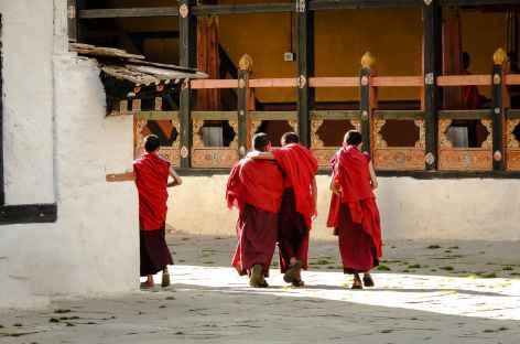 Au Dzong de Paro  - Bhoutan -