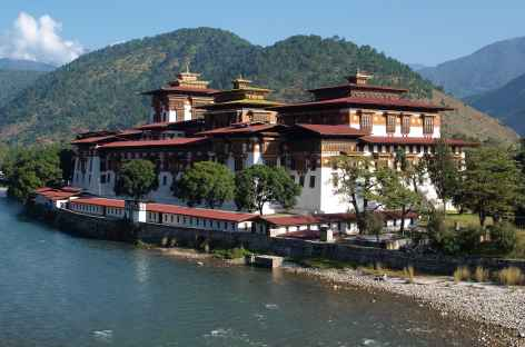 Dzong Royal de Punakha  - Bhoutan -