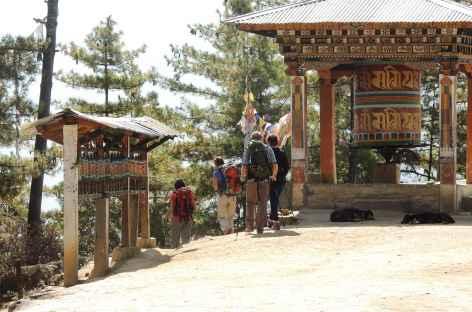 Sur le sentier de Taktsang  - Bhoutan -
