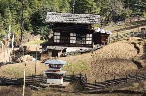 Maison de Haa  - Bhoutan -
