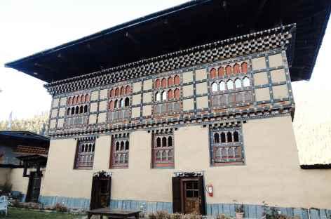 Architecture de la vallée de Haa - Bhoutan -