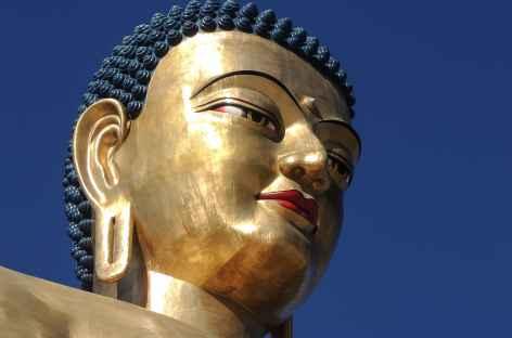 Visage du Bouddha  - Bhoutan -