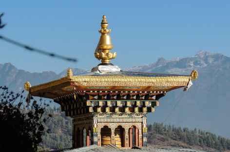 Détail à Dzongdrakha  - Bhoutan -