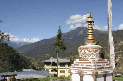 Stupa dans l'Est du pays - Bhoutan -