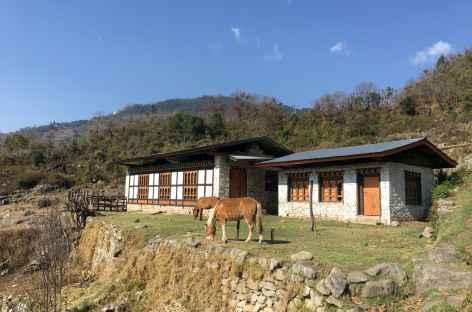 Village d'Om Ba - Bhoutan -
