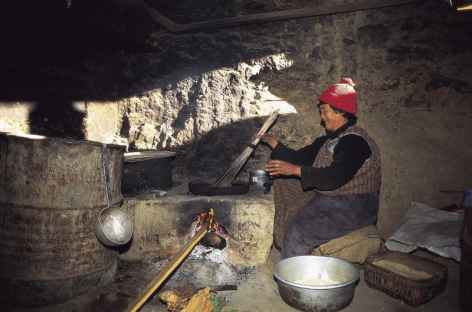 Cuisine de campagne - Bhoutan -