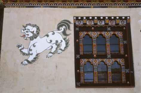 Décoration des maisons - Bhoutan  -
