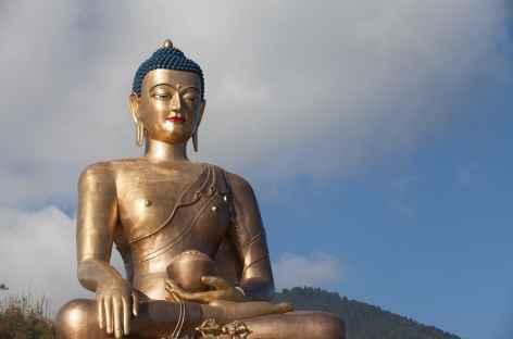Grand Bouddha au dessus de Thimphu -