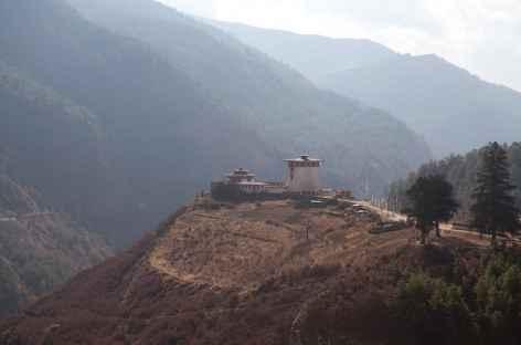 Sur la route entre Haa et Thimphu -