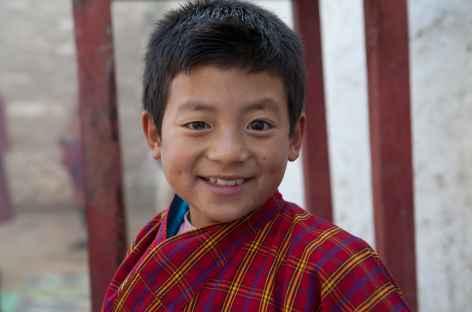 Jeune bhoutanais -