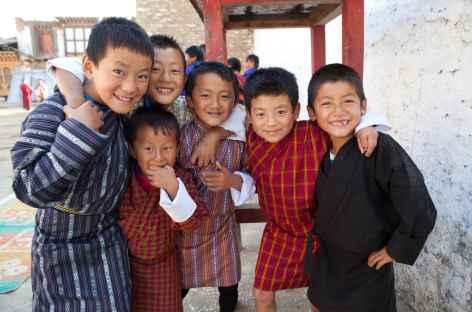 Jeunes bhoutanais -