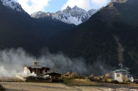 Le petit temple de Laya - Bhoutan -