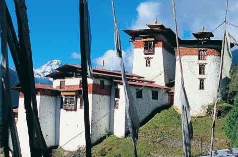 Le beau dzong de Gasa - Bhoutan -