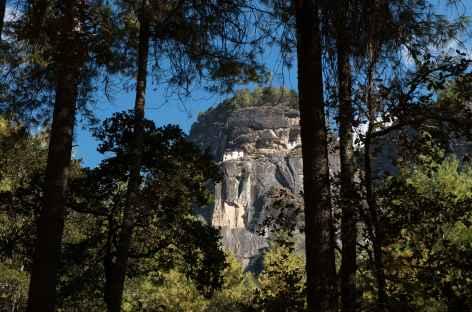 Montée vers Taktsang - Bhoutan -