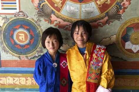 Entrée du dzong de Punakha - Bhoutan -