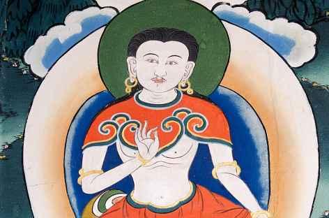 Le célèbre Drukpa Kinley - Bhoutan -