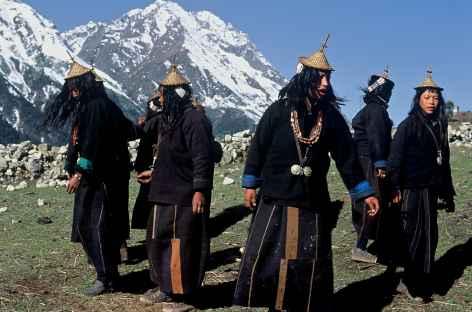 Danses locales, Laya - Bhoutan -
