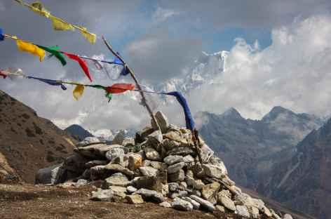 Vue du Jare La - Bhoutan -