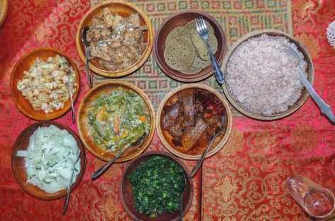 Repas typique- Bhoutan -