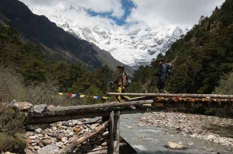 Au dessus de Laya - Bhoutan -