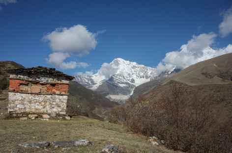 Au dessus de Lingshi- Bhoutan -