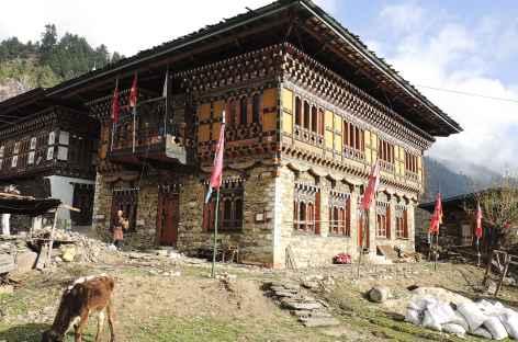 Hébergement à Nasphel - Bhoutan -
