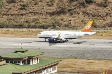 Atterrissage à Paro - Bhoutan -