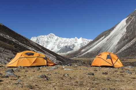 Camp de Bamarpo 4500m  - Bhoutan -