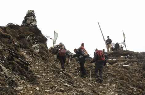 Passage du col - Bhoutan -