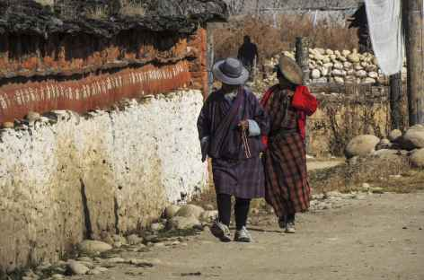 Costumes traditionnels de Bumthang  - Bhoutan -