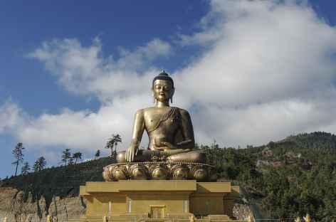 Grand Bouddha au-dessus de Thimphu  - Bhoutan -