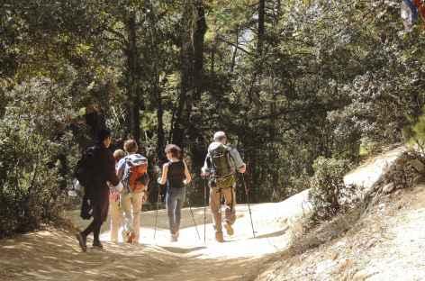 En balade vers Taktsang  - Bhoutan -