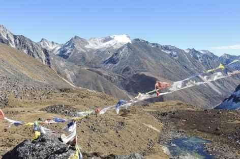 Vue sur la vallée Jumbo Jet  - Bhoutan -