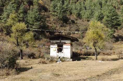 Moulin à prières  - Bhoutan -