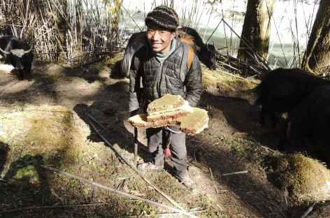 Rencontre en chemin  - Bhoutan -