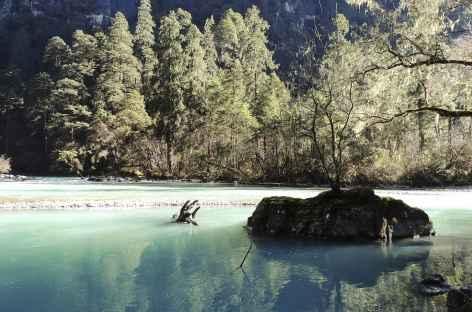 Couleur de la rivière  - Bhoutan -
