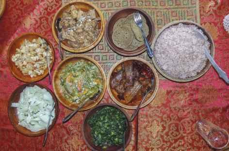 Plats Typiques  - Bhoutan -