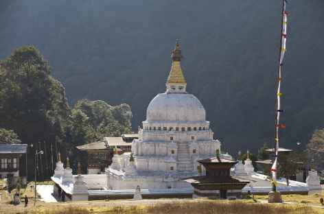Stupa de Chendebdji - Bhoutan -