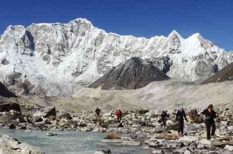 Camp de base du Melunghi  - Bhoutan -
