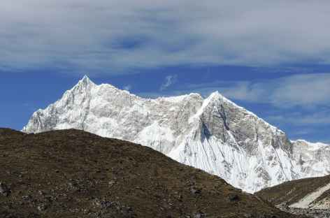 La pyramide du Kangar Punsum 7541 m  - Bhoutan -