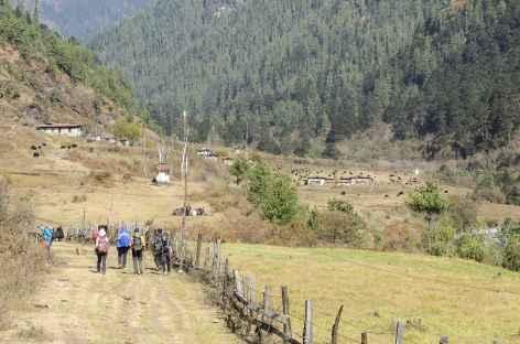 Départ du Trek  - Bhoutan -