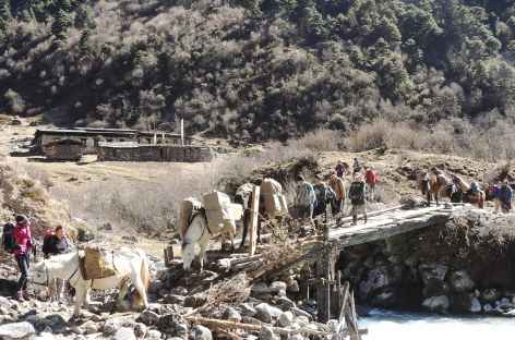 Traversée à Tsampa - Bhoutan -