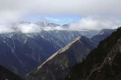 Montée vers le Thonle La  - Bhoutan -