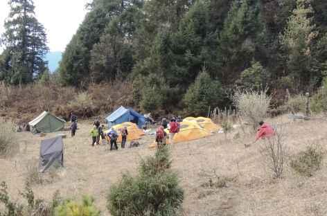 Camp de Gorsum  - Bhoutan -