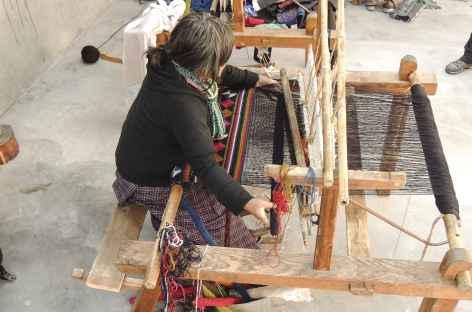 Tissage des Yatras  - Bhoutan -