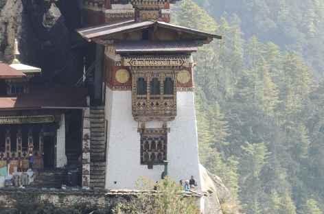 Détail à Taktsang - Bhoutan -