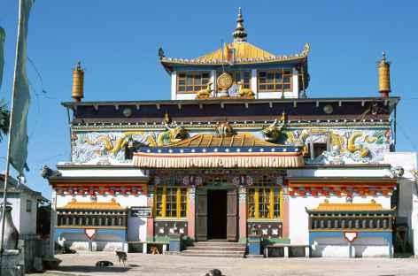 Monastère, Sikkim -