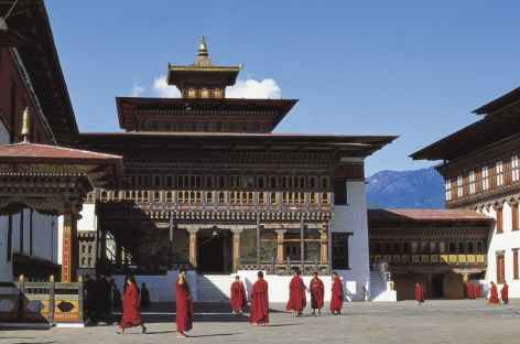 Cour intérieure de Tashichhodzong, Thimphu -
